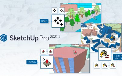 Nuevas actualizaciones en SketchUp Pro 2021.1